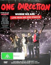 One Direction 'Where We Are' Live From San Siro Stadium NEW! DVD, LIVE CONCERT