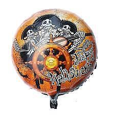 100 Halloween Balloons Pumpkin Skull Spiders Web Witch Orange Black baloons