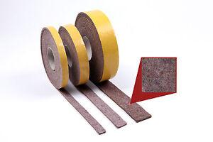 Filzstreifen-Meterware-70-mm-breit-5-0-mm-selbstklebender-Filz-Filzband
