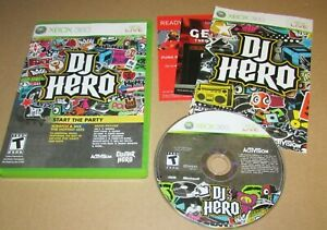 DJ Hero (Game Only) for Xbox 360 Complete Fast Shipping!