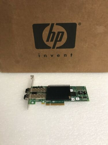 HP AJ763A AJ763-63002 489193-001 8GB DP 82E FIBRE CHANNEL ADAPTER LPE12002