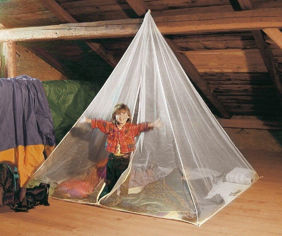 Brett Schneider Mosquito Net Fine Mesh Pyramid Extreme with Base + Zip M