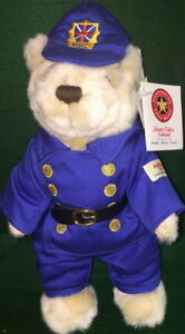 Hard-Rock-Cafe-ONLINE-2004-COUNTRY-Bear-Series-ENGLAND-10-034-Teddy-Bear-ARCHIVE