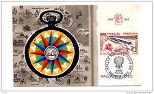 Carte Rally PHILATEC 1964 - Pontarlier