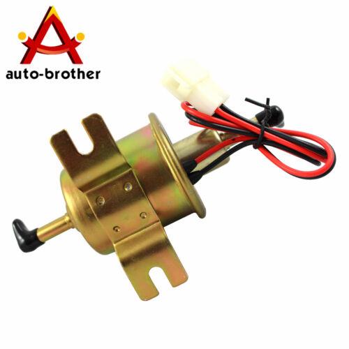 12V HEP-02A High quality Gas Diesel Inline Low Pressure electric fuel pump