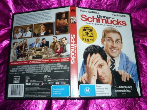1 of 1 - DINNER FOR SCHMUCKS : (DVD, M) (EX RENTAL)