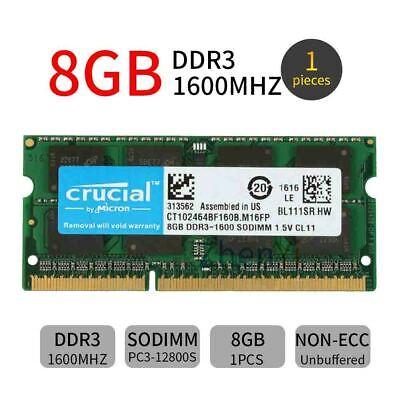 DDR3 1600MHz SODIMM PC3-12800 204-Pin Non-ECC Memory Upgrade Module AC185TU A-Tech 8GB RAM for HP 15 Series 15