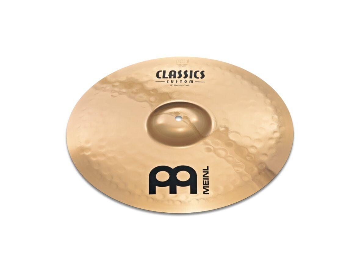 negozio online Meinl Classics Classics Classics Custom Medium Crash 16  vasche Cymbal  risparmiare sulla liquidazione