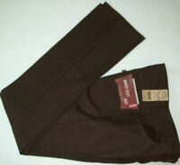 Levi's 517 Boot Cut Slim Fit Pants Jeans Sits At Waist Brown Polyester
