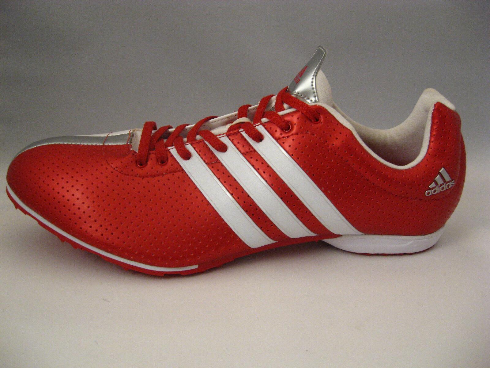 Hombre zapatos de la pista 14 Adidas adiZero ligero MD g00162 blanco rojo ligero adiZero Spikes nueva marca de descuento 37cc96