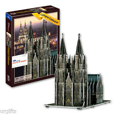 3D Puzzle Model Gothic Church Cologne Cathedral Germany Hohe Domkirche Souvenir