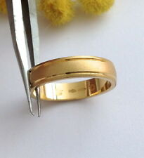 FEDINA IN ORO GIALLO 18KT - 18KT SOLID YELLOW GOLD WEDDING RING
