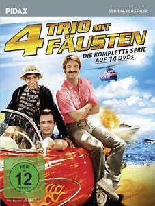 14-DVD-Box-TRIO-MIT-4-FAUSTEN-PIDAX-SERIEN-KLASSIKER-vier-NEU-OVP