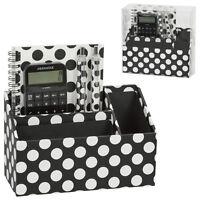 Polka Dot Fashion Desk Magnetic Organizer Set