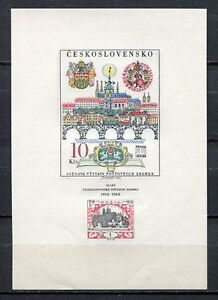 33363-CZECHOSLOVAKIA-1968-MNH-Prague-039-68-S-S