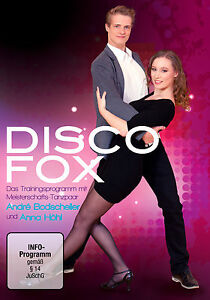 DVD-DISCOFOX-Training-mit-Andre-Bodscheller-und-Anna-Hoehl-NEU
