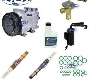A//C Compressor Kit Fits Ford Bronco F150 F250 F350 1990-1993 OEM FS10 PV6 57120