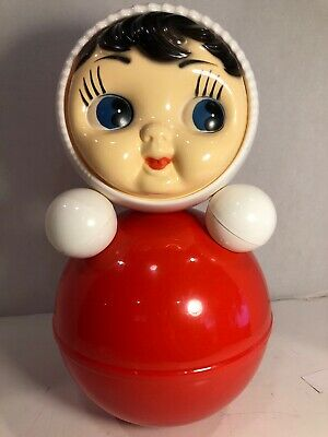 Doll Baby Musical NEVALYASHKA Legendary Soviet Roly Poly Classic Russian Toy