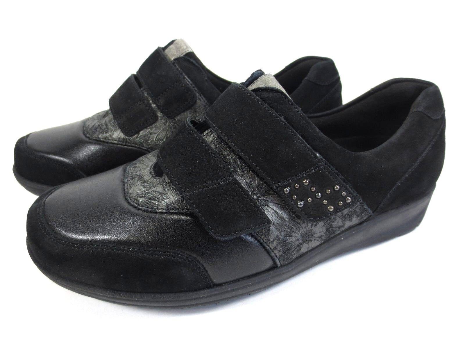WALDLÄUFER Mimi Soft Leder Schuhe Diabetiker Stretch Gr. 37,5 UK 4,5 M  320