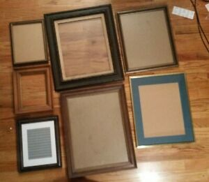 eStatE-sALe-HUGE-LOT-2-oF-picture-fRames-foR-sTudio-artists-amp-phoTogRaphy