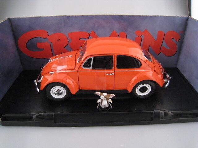 VW Käfer   VW Beetle  GREMLINS  mit Gizmo  Greenlight  Limitiert  1 18  NEU