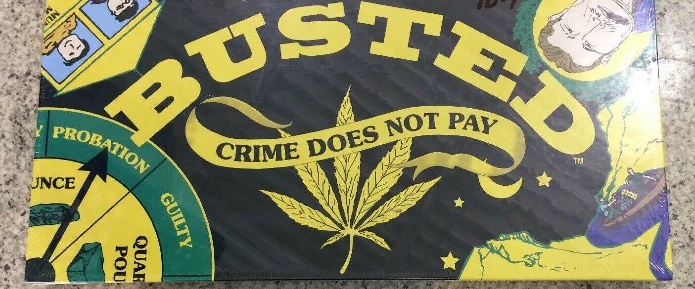 Buster Crime Does Not Pay, Game Board, The Marijuana Game