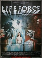 LIFE FORCE Affiche Cinéma ORIGINALE / Movie Poster 160x120 TOOBE HOPPER