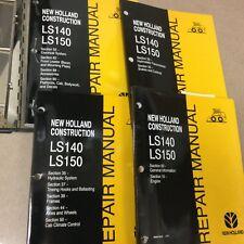 New Holland Ls140 Ls150 Skid Steer Loader Service Repair Shop Manual Guide Book