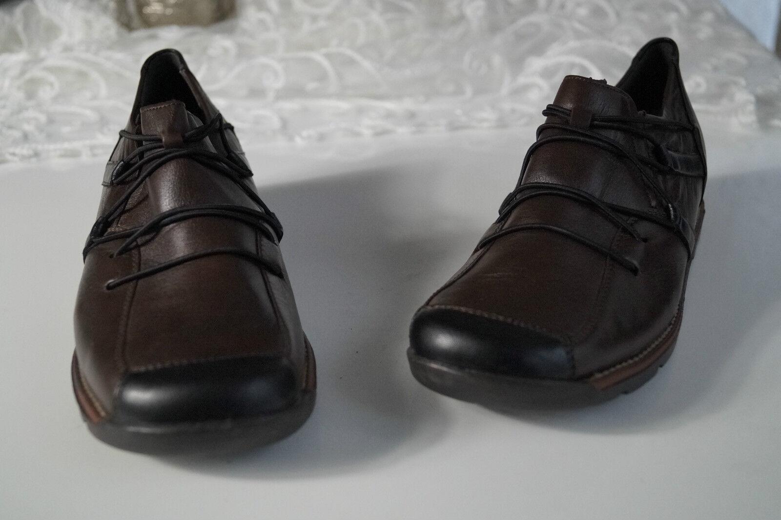 REMONTE Lofters Damen Schuhe Sneaker Einlagen Slipper Leder braun mit Einlagen Sneaker Gr.40 NEU 345c6d