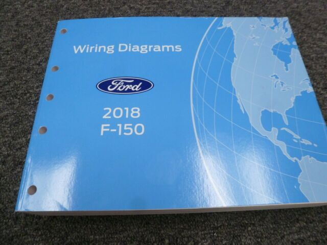 2018 Ford F150 Truck Electrical Wiring Diagrams Manual Xl