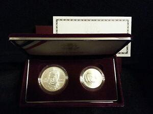 RARE-1998-US-Mint-Silver-Uncirculated-Matte-Kennedy-Collector-Set-Box-amp-COA