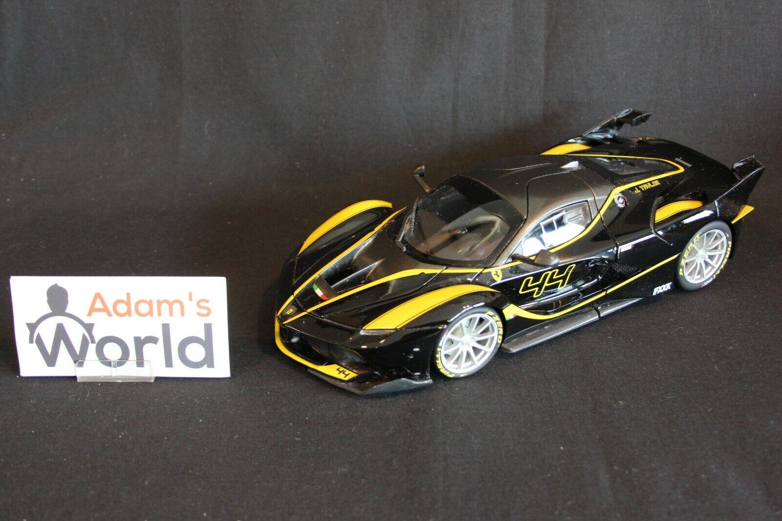 Bburago Ferrari FXX K 1 18 nero (PJBB)