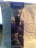 Samson Dynamic Microphone M10: Vocals