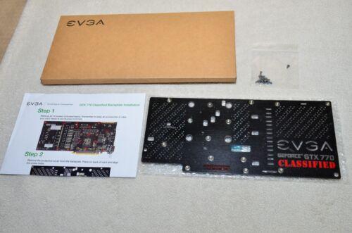 ***NEW*** EVGA GTX 770 Classified Backplate ACX Fan, Two Fans