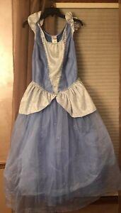 Disney-the-Dress-Shop-Cinderella-Costume-Halloween-Magic-Kingdom-Size-Large