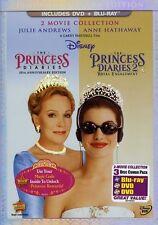 Princess Diaries/Princess Diaries 2: Royal Engag (2012, REGION A Blu-ray New) WS