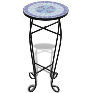 Details About Small Garden Coffee Table Vintage Round Side End Table Balcony Outdoor Patio