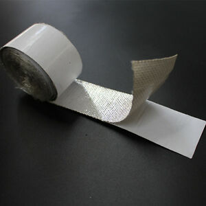 Self-adhesive-Aluminized-Reflective-Thermo-Hose-Wrap-Tape-Heat-Shield-2-039-039-x-16-5-039