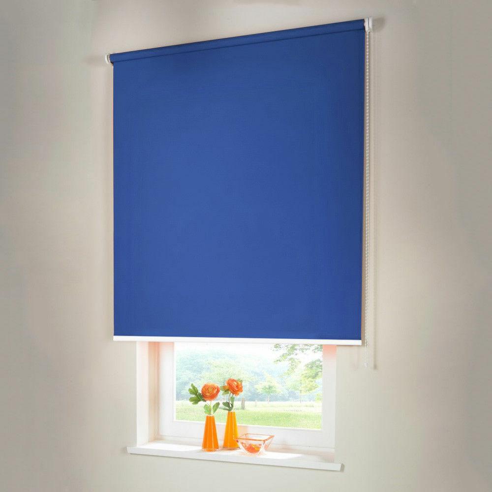 Persiana para oscurecer seitenzug kettenzug persiana-altura 130 cm fondos azul