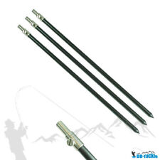 NGT Aluminium Bank Stick schwarz 50-90 cm Rod Pod Rutenständer
