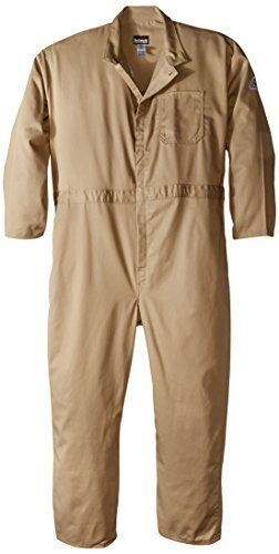 4c6a6a3f89e Bulwark Flame Resistant Contractor Coverall Khaki 2xl Cec2kh LN 52 for sale  online