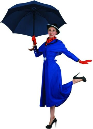 Womens Book Week English Maid Victorian Nanny Storybook Mary Poppins Costume