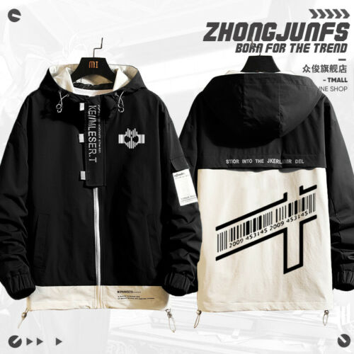 Details about  /Anime Kamen Rider Zi-O Cosplay Hoodie Uniex Daily Zip Long Sleeve Coat Jacket#