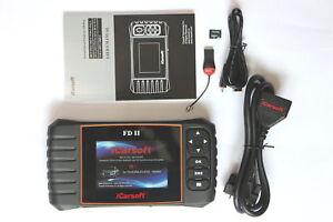 iCarsoft FDII OBD Tiefendiagnose passt bei Ford Ranger ,ECU,ABS,Airbag…. - Deutschland - iCarsoft FDII OBD Tiefendiagnose passt bei Ford Ranger ,ECU,ABS,Airbag…. - Deutschland