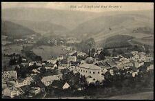 BAD REINERZ Duszniki-Zdrój * Blick auf Stadt und Bad Reinerz * sw AK gel. 1911