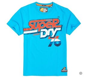Superdry Mens Malibu Mid Weight Graphic T-Shirt NWT