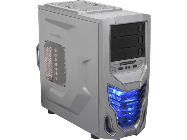 RAIDMAX Cobra ATX-502WTIU Titanium/Black Steel / Plastic ATX Mid Tower Computer