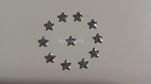 Nieten aus Metall *Stern* 500 Hotfix Nailheads 5x5mm in *silber*