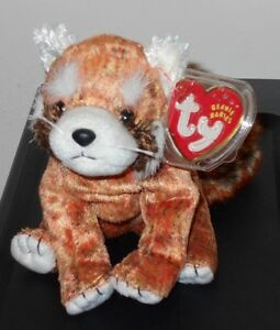 91f39d14330 Ty Beanie Baby ~ RUSTY the Red Panda (5.5 Inch) MWMT 8421045631