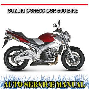 suzuki gsr 600 werkstatthandbuch